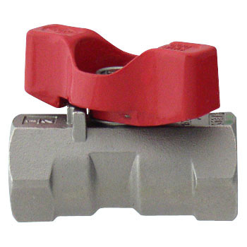 Stainless Steel Ball Valve Reduced Bore, T HandleUz Series