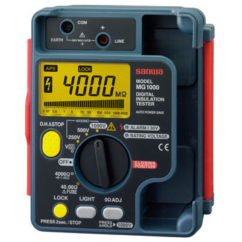3 Range Digital Insulation Resistance Meter