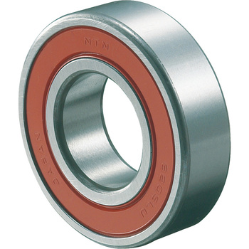 Deep Groove Ball Bearing 6200 Retaining Ring Non-Contact Seal Type LLUNR