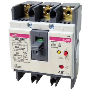Earth Leakage Circuit Breaker