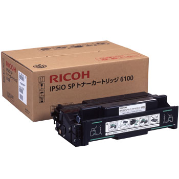 Ricoh IPSiO SP Toner Cartridge 6100, Genuine
