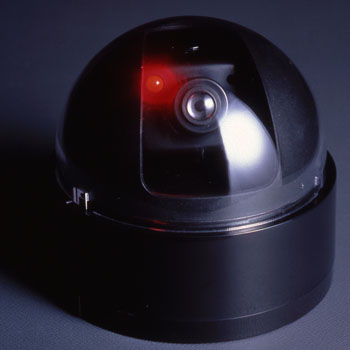 Dome Type Security Dummy Camera