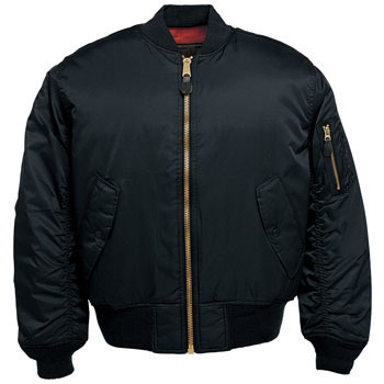 MA-1 type protection against cold blouson