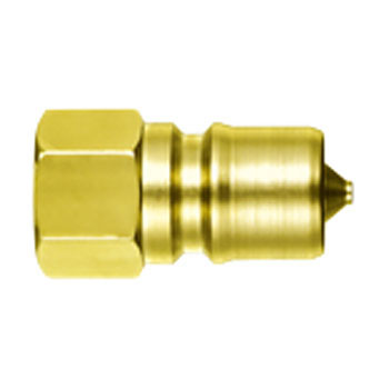 Sp Coupler Type A Blug, Brass/Nitrile Rubber Seals