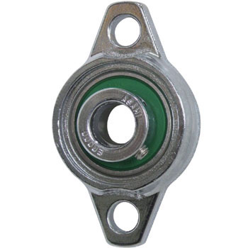 Silver Series Rhombic Flange Unit, Stainless Silver