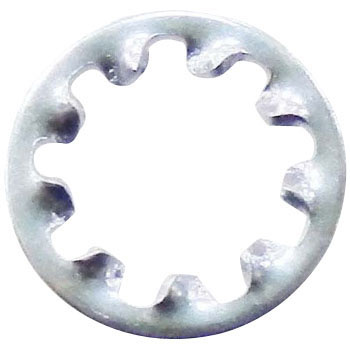 Internal-Tooth Washer, Iron/Trivalent Chromate