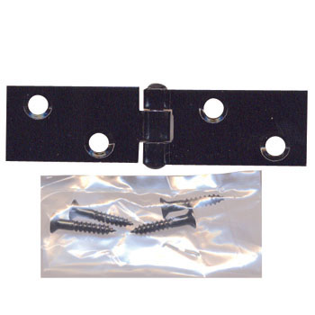 Oblong Hinge Black