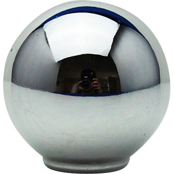 ABS Knob Chrome