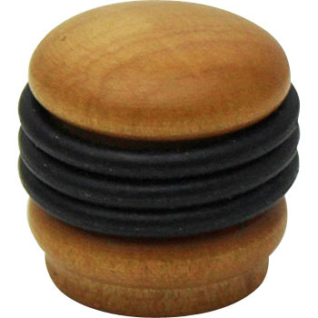 Brown Wooden Knob