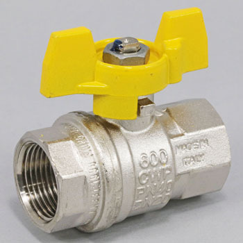 Medium Pressure Ball Valve, Butterfly Handle