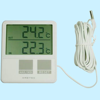 For Indoor / Outdoor Thermometer