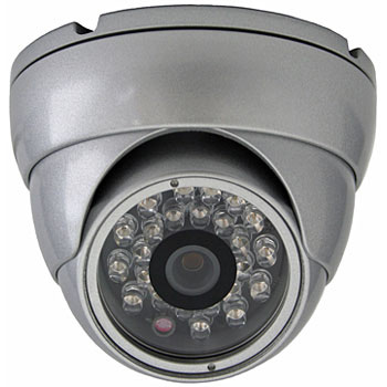 SONY CCD 700TVL 3.6mm fixed lens IR dome camera