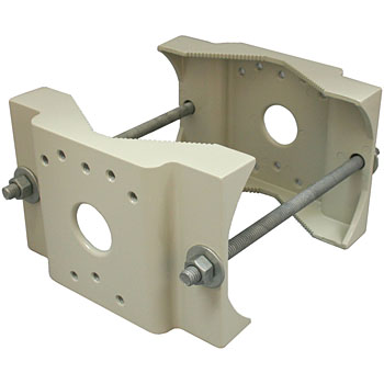 Pole mount for bracket