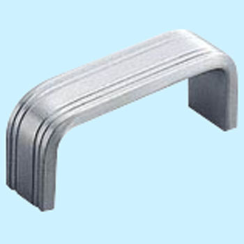 Stainless flat angle handle