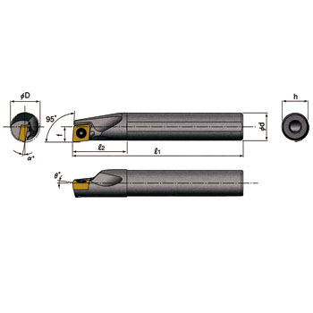 TAC byte stream jet bar for the inner diameter