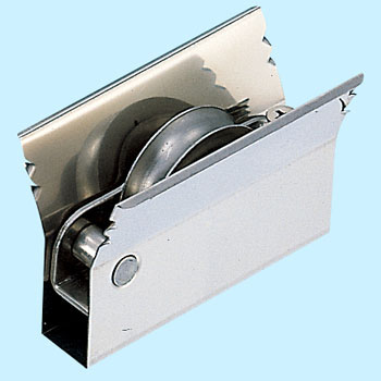 Sash replacement door roller stainless steel car