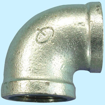 Elbow Malleable Cast Pipe Fitting White
