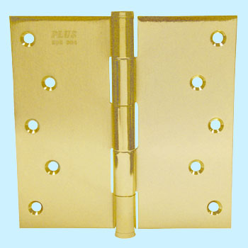 Stainless Steel Square Corner Plain Bearing Mortise Hinge