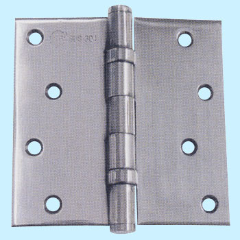 Stainless Steel Square Corner Ball Bearing Mortise Hinge
