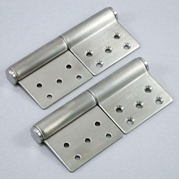 Flag Hinge With Stainless Surface