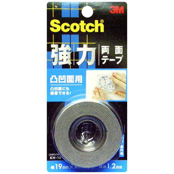Scotch Strong Double Sided Tape for Uneven Surfaces