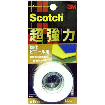 Scotch Strong Double-Sided Tape For Vinyl Chloride