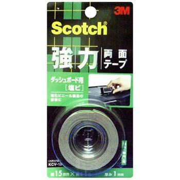Scotch Strong Double-Sided Tape For Dashboard, Vinyl Chloride,