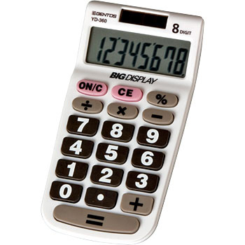 Friendly calculator pocket size