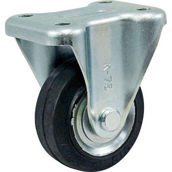 Fixed Casters, Rubber, B
