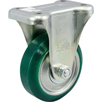 Rigid Caster Urethane Wheels, B