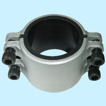 Crimp Socket Straight Steel Pipe L Type, Half Size