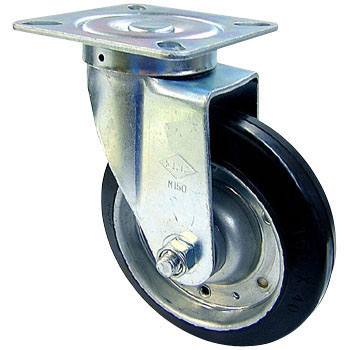 SGW, MSG Type Caster, Swivel Caster, Rubber Wheel