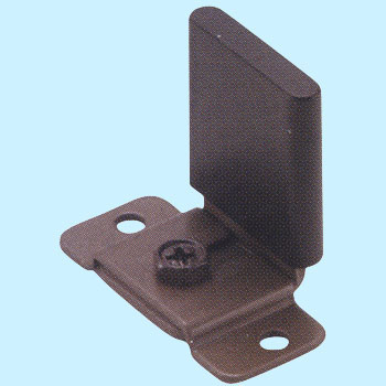Slide Door Lower Guide Rail Parts, Resin, HR SYSTEM