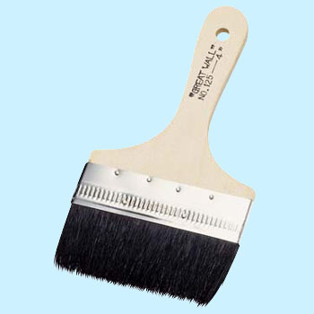Black Gold Roll Paste Brush