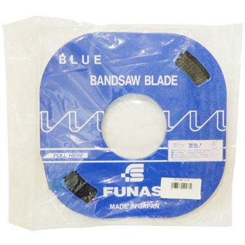 Band saw blade for counter machine