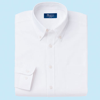 unisexed long-sleeved Oxford shirt
