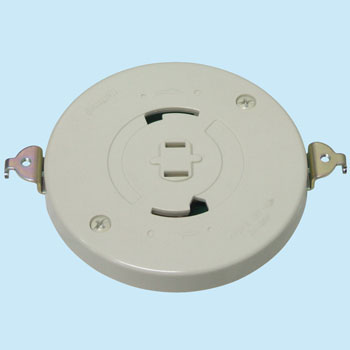 Embedded Rosette with Outlet