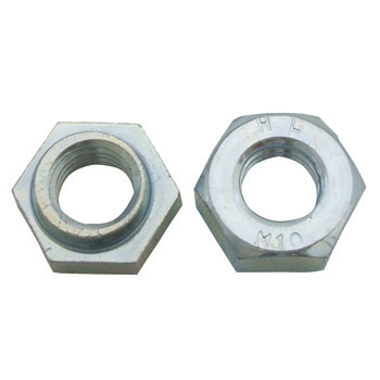 Hard Lock Nut, Trivalent Chromate / Iron