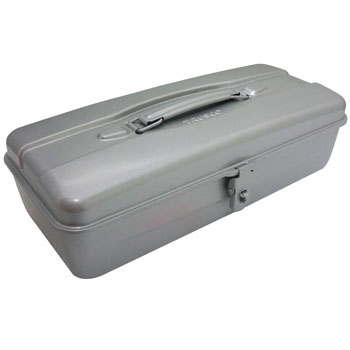Hip Roof Tool Box Silver