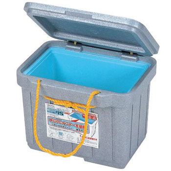 Foam Cooler, With Containers