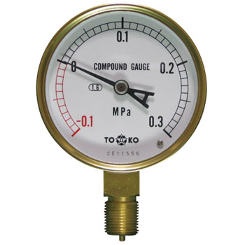 General Compound Gauge Type A phi75