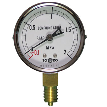 General Compound Gauge Type A phi60