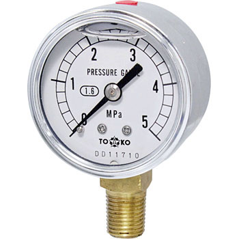 Glycerine Filled Pressure Gauge, Φ50