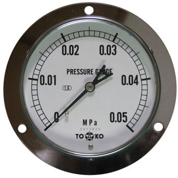 Embedding Type Pressure Gauge A Class phi100