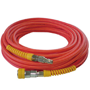 Hit Run Hose Red Coupler