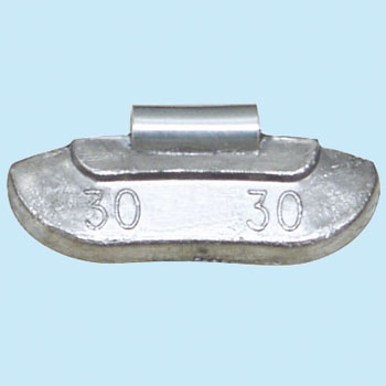 A Universal Balance Weight for Steel Rims