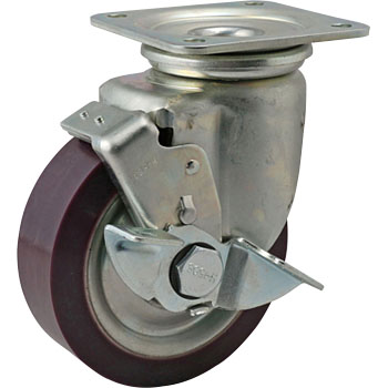 Stopper for Heavy Castors, Rubber Wheels