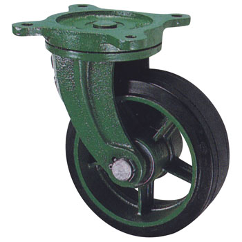Ductile caster (wide type) freely car