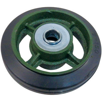 Wheels, Rubber, With BCarfor Ductile Casters, Standard Type