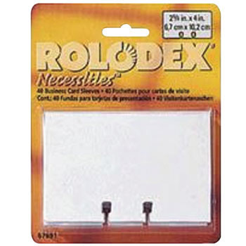 Sleeve for Rolodex
